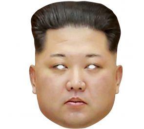 Kim Jong-un -julkkisnaamari