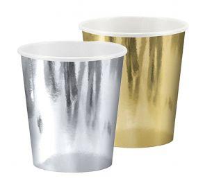 Paperimukit, kultainen ja hopea