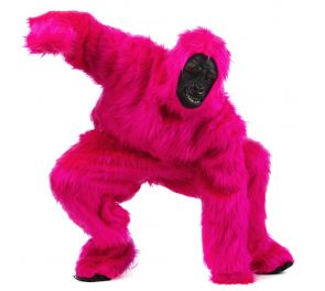 Pinkki Gorilla