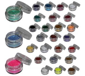 Upeat MikimFX glitterit useassa eri värisävyssä!