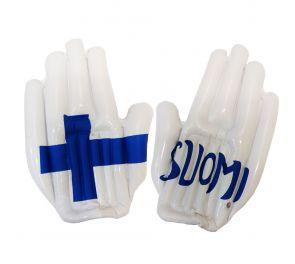Suomi-aiheinen hauska kannatusväline!