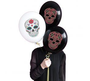 Pääkallo-ilmapallot