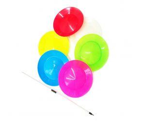 Spinning Plate -jongleerauslautanen + keppi
