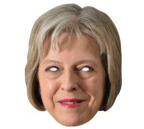 Theresa May -julkkisnaamari