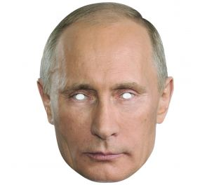 Vladimir Putin -julkkisnaamari