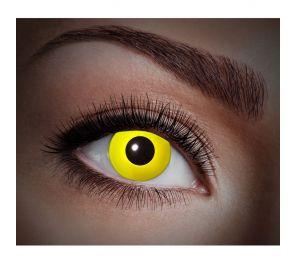 Piilolinssit, UV-Yellow