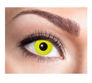 Piilolinssit Yellow Crow Eye, yksi pari