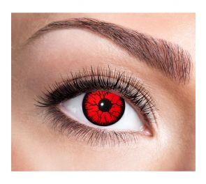 Puna-mustat piilolinssit Metatron, yksi pari