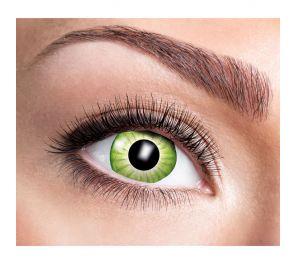 Electro Green -piilolinssit vihreän sävyissä