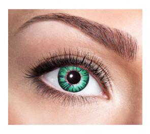 Big Eyes Green -piilolinssit, yksi pari linssejä
