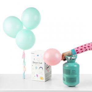 Heliumin kotipakkaus