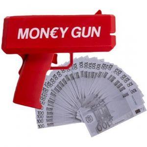Money Gun -rahapyssy seteleillä
