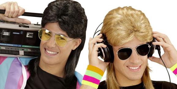 Värikkäät peruukit naamiaisiin, vappuun tai muuhun hauskanpitoon!