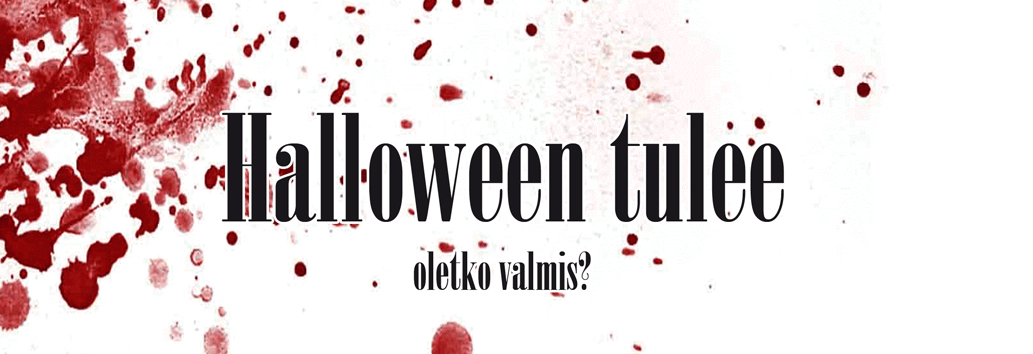 Halloween tulee