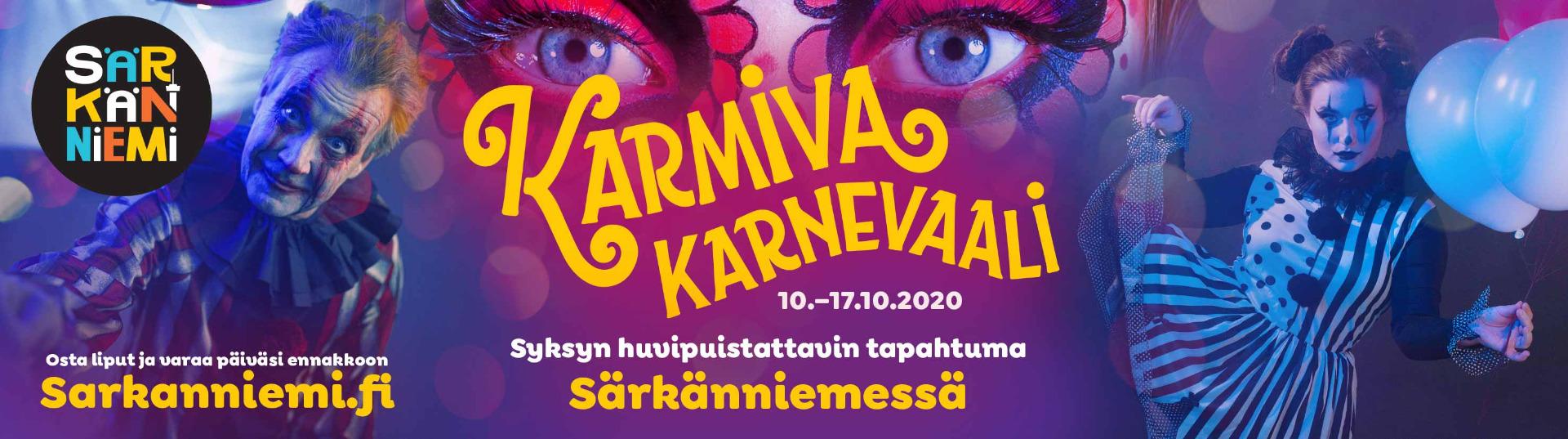 Karmiva Karnevaali 10.-17.10.2020