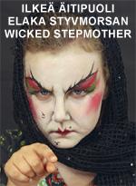 Ilkeä äitipuoli • Elaka styvmorsan • Wicked stepmother
