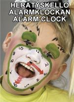 Herätyskello • Alarmklockan • Alarm clock