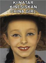 Kiinatar • Kinesiskan • China girl