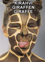 Kirahvi • Giraffen • Giraffe