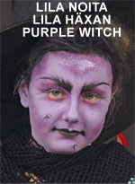 Lila noita • Lila häxan • Purple Witch