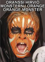 Oranssi hirviö • Monstern i orange • Orange monster