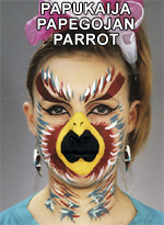 Papukaija • Papegojan • Parrot
