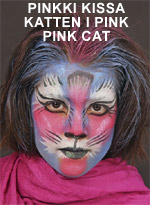 Pinkki kissa • Katten i pink • Pink cat