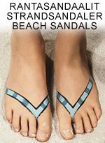 Rantasandaalit • Strandsandaler • Beach sandals - PDF