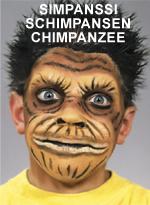 Simpanssi • Schimpansen • Chimpanzee