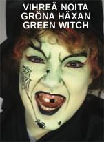 Vihreä noita • Gröna häxan • Green witch