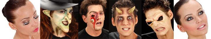Ripset ja lisäosat - ögonfransar och extradelar - eyelashes and prosthetics