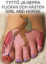 Tyttö ja heppa • Flickan och hästen • Girl and horse