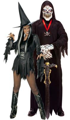 Halloween-noita ja Mr. Death