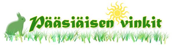 Pääsiäisen asu- ja asustevinkit